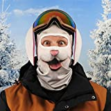 Beardo Original HD - Pasamontañas para esquí, protección contra el frío, protección Facial, pasamontañas (Ski Bunny, máscara de esquí, Carnicero, Conejo)