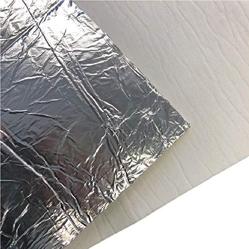 Flamado Hitzeschutz - Keramikfasermatte mit Alubeschichtung 1200x500x5mm