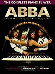 The Complete Piano Player: Abba. Partitions pour Piano, Chant et Guitare