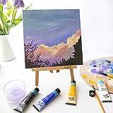Mont Marte Acrylfarben Set Premium – 48 Stück, 36ml Tuben – Ideal für Acrylmalerei – Brillante Lichtechte Farben mit großer Deckkraft – Perfekt geeignet für Anfänger, Profis und Künstler - 7