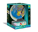 Clementoni 61739 Talking Explore Educational Kids-Globes World-Interactive Toy-English Version