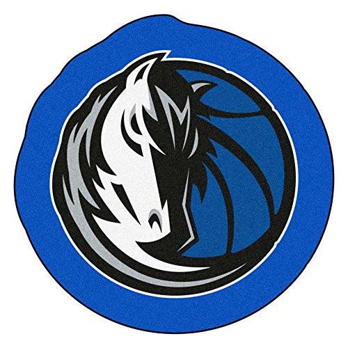 FANMATS 21336 NBA - Dallas Mavericks Mascot Mat, Team Color, 3' x 4'