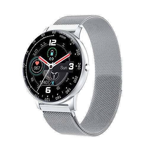 1,3 Smart Watch Touchscreen Herzfrequenz Blutdruckmessung Sicherer Schlaf Multisport-Modus Physiologischer Zyklus IP67 wasserdichte Fitness-Smartwatches für Männer Frauen Kompatibel mit Android /