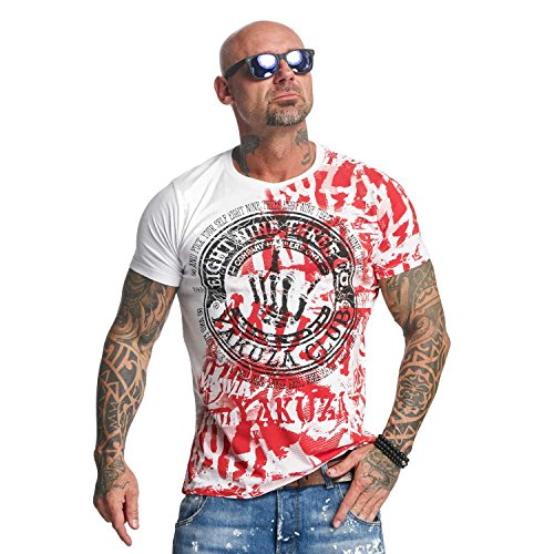 Yakuza Original Yakuza Club T-Shirt , Weiß - XL