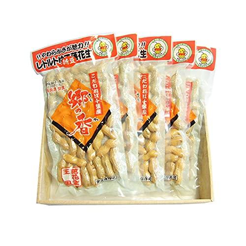 千葉県八街産落花生 レトルトゆで落花生(200g)×5pack