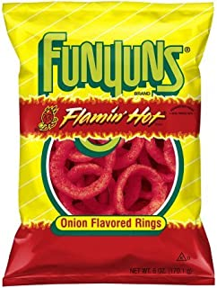 Flamin Hot Funyuns 6 Ounce (1 bag)