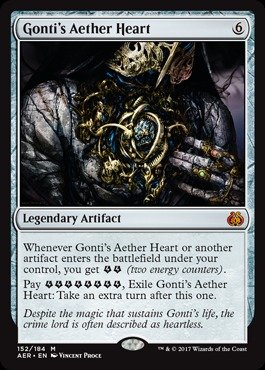 Magic The Gathering - Gonti39;s Aether Heart (152/184) - Aether Revolt