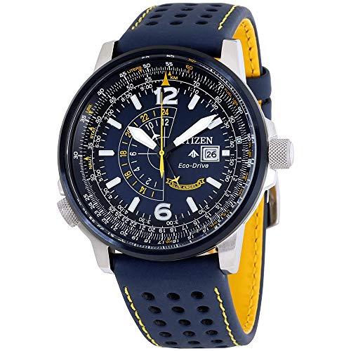Relógio masculino Citizen BJ7007-02L Eco-Drive, Azul, One Size