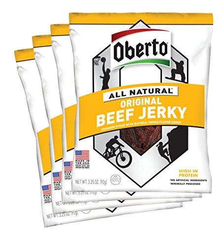 Natural jerky snacks on Amazon