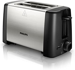 Philips Philips Daily Collection 2 Slice Toaster, Stainless Steel - Hd4825/91,