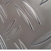 2000mm Aluwinkel 40x25 mm Schenkelinnenma/ß aus Alu Riffelblech Duett 1,5//2,0 mm stark Abdeckleiste,Winkelprofil, Alu Winkel