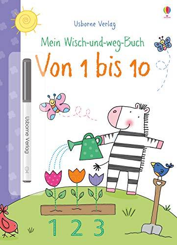 Mein Wisch-und-weg-Buch: Von 1 bis 10: mit abwischbarem Stift