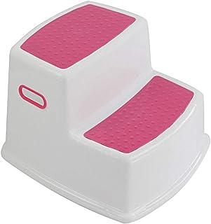 Teekit 2 Marchepieds pour Enfants Tabouret pour Tout-Petit pour Toilettes Cuisine Slip-Training Salle de Bains Cuisine