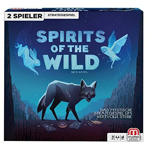 Mattel Games GNH18 - Spirits of The Wild Strategiespiel, geeignet für 2 Spieler, Strategiespiele ab 10 Jahren