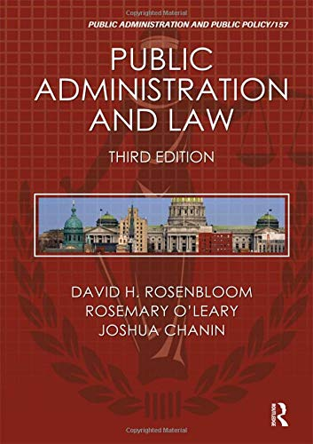Public Administration and Law (Public Administration and Public Policy)