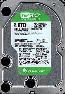 Western Digital wd20earx-22pasb02TB DCM: hhrchvjchb
