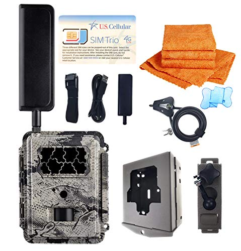 Spartan GoCam Deluxe Package Deal (2-Year Warranty) (U.S. Cellular Version, Model#GC-U4Gb) 4G Wireless Blackout Infrared Hunting Camera
