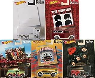 SpongeBob SquarePants New 1:64 HOT Wheels POP Culture 2017 CASE H - The Beatles Set Diecast Model Car Set of 5 Cars