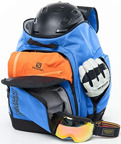 Element Equipment Ultimate Boot Bag Snowboard Ski Backpack Blue Ripstop NanoWeave