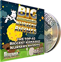 Mr Entertainer Big Hits of Nursery Rhymes - Double CDG Pack. Top 40 Greatest Childrens Songs. Vocal Versions