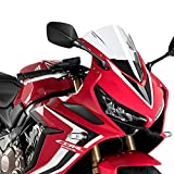 Puig 3568W RACING-SCREEN [CLEAR] HONDA CBR650R (19-) プーチ スクリーン カウル
