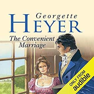 The Convenient Marriage                   By:                                                                                                                                 Georgette Heyer                               Narrated by:                                                                                                                                 Caroline Hunt                      Length: 9 hrs and 35 mins     21 ratings     Overall 4.7