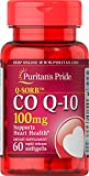 Q-Sorb CoQ10 100mg, Supports Heart Health,60 Rapid Release Softgels by Puritan's Pride