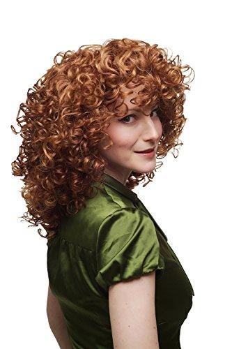 WIG ME UP - Perruque pour femme mélange de roux et blond boucles super volumineuses SA042-350/144