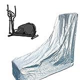 KKAI Elliptical Machine Cover Waterproof Outdoor Sun Protection Aluminum Film Cotton (Size : Medium)
