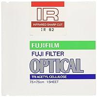 FUJIFILM 光吸収・赤外線透過フィルター(IRフィルター) 単品 フイルター IR 82 7.5X 1
