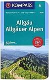 KV WF 5456 Allgäu, Allgäuer Alpen: Wanderführer mit Extra-Tourenkarte 1:40000, 60 Touren, GPX-Daten zum Download. (KOMPASS-Wanderführer, Band 5456)