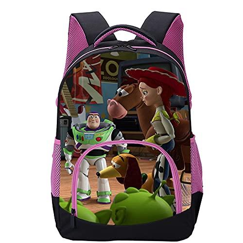 Pengtao Zaino stampato in 3D Toy story cartoon Zaino, valigie, borsa da scuola Zaini moda per adolescenti, adulti, zaini per bambini 45x30x15cm