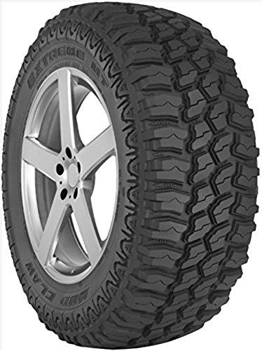 33x12.50R17LT D BLK Multi-Mile Mud Claw Extreme M/T Tire