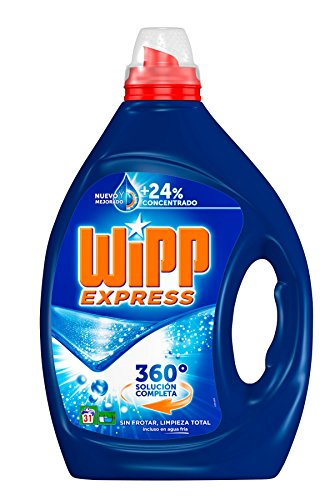 Wipp Express Detergente Líquido Azul - 31 Lavados (1.55 l)