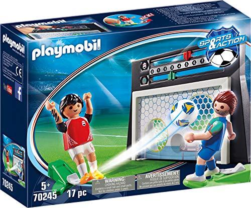 Playmobil - Cage avec Tirs aux Buts - 70245