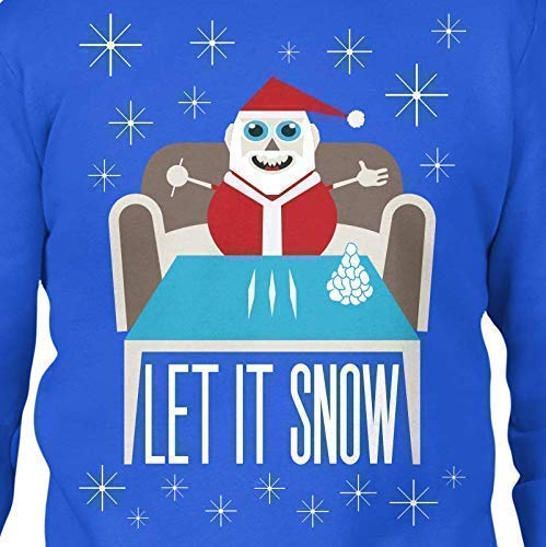 Christmas Sweater Men's Let It Snow