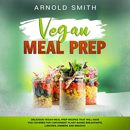 Vegan Meal Prep audiobook cover art