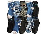 Pesail 10 Paar Jungen Thermo Winter Socken Größe 23-35 (27-30)