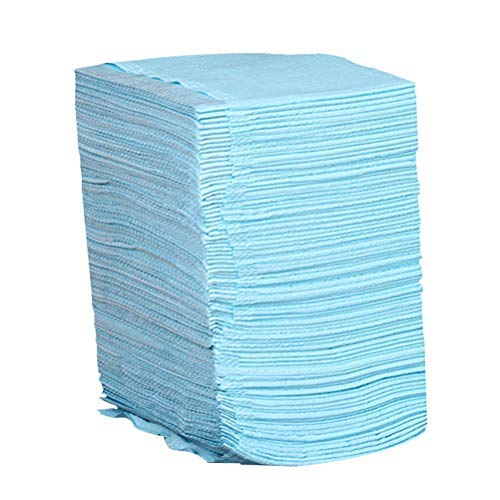 HEALIFTY 125 hojas desechables para tatuajes, impermeables, higiene médica, manteles de papel personal, hojas de tatuaje (azul)