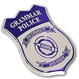 Grammar Police Lapel Pin