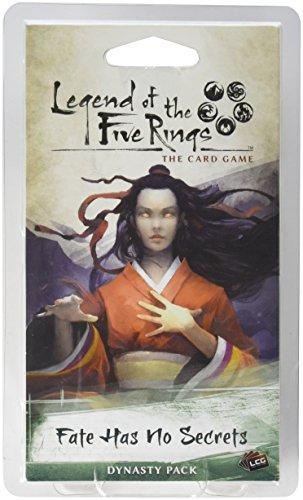 Fantasy Flight Games FFGL5C06 Fate Has No Secrets Erweiterungspack: L5R LCG, Mehrfarbig