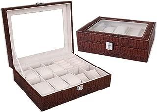 Ear Jewelry Box Separate Jewelry Box Girl Storage Box and Storage Box(Coffee One Size)