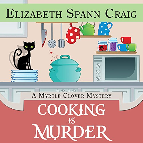 Cooking Is Murder audiobook cover art