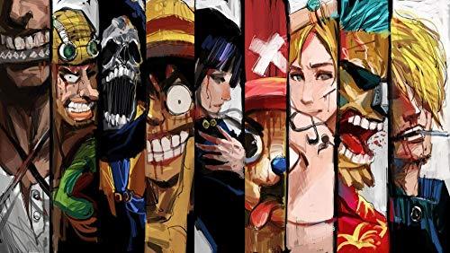One Piece Pirate Warriors 3 Classique Puzzle Adulte 1000 Pièces Diy Art Moderne Cadeau Spécial Déco Maison, Jigsaw Intellectual Toys,75X50Cm, En Bois