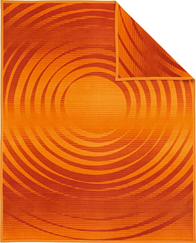 Ibena woondeken Bel Etage oranje - 200 150x200 cm