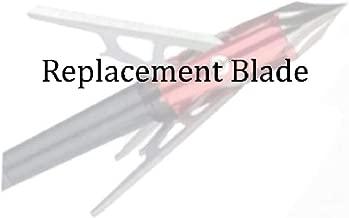 Rage Replacement Blade Kit Chisel Tip x/3 Blade SC Silver, 100 gr.