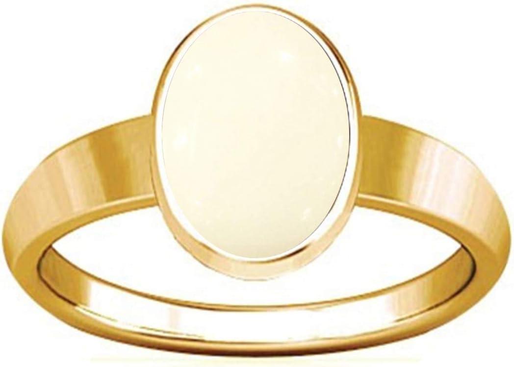 Divya Shakti 5.25-5.50 Carat White Inexpensive Philadelphia Mall Coral P Moonga Munga Gemstone
