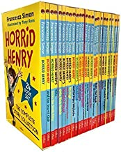 Horrid Henry The Complete Story Collection 24 Books Box Set [Paperback] [Jan 01, 2016] Francesca Simon and Tony Ross