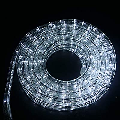 Ainfox LED Rope Light,Indoor Outdoor Waterproof LED Strip Lights Lighting Kit