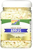 Mother Earth Products Freeze Dried Apples, Net Wt 3oz (85g)...